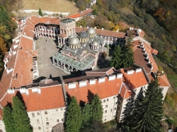Rila Monastery Bird View